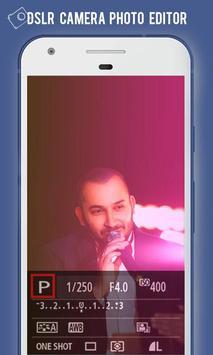 DSLR Camera HD Photo Effect poster