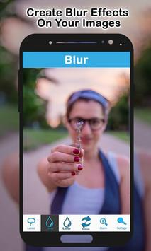 Blur Background Photo Effect poster