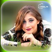 DSLR Camera :Blur Effect icon