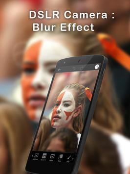DSLR Camera :Blur Effect poster