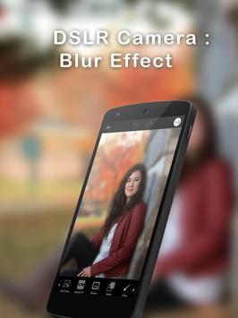 DSLR Camera :Blur Effect apk screenshot