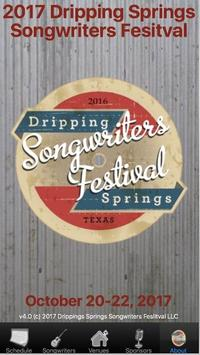 DS Songwriters Festival poster