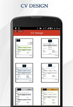 cv maker poster cv maker apk screenshot