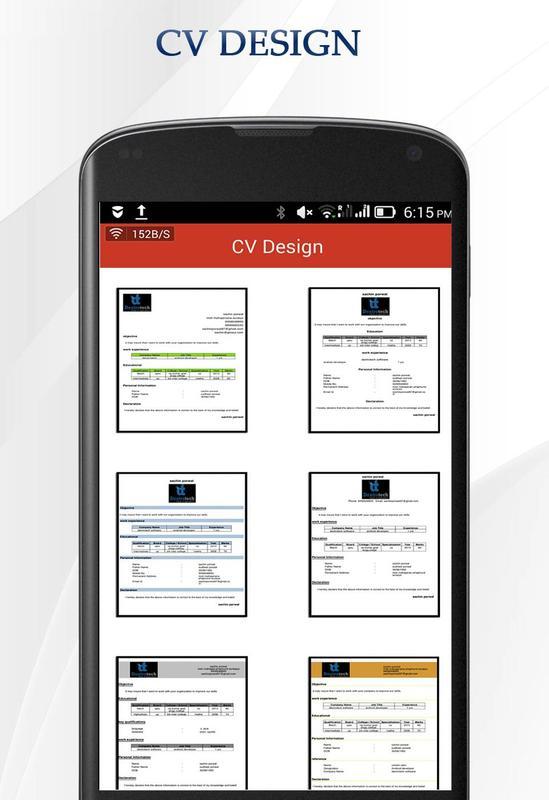 Cv Maker For Android Apk Download
