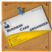 business card Organizer icon