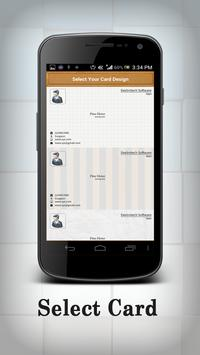 business card Organizer screenshot 2