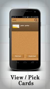 business card Organizer screenshot 4