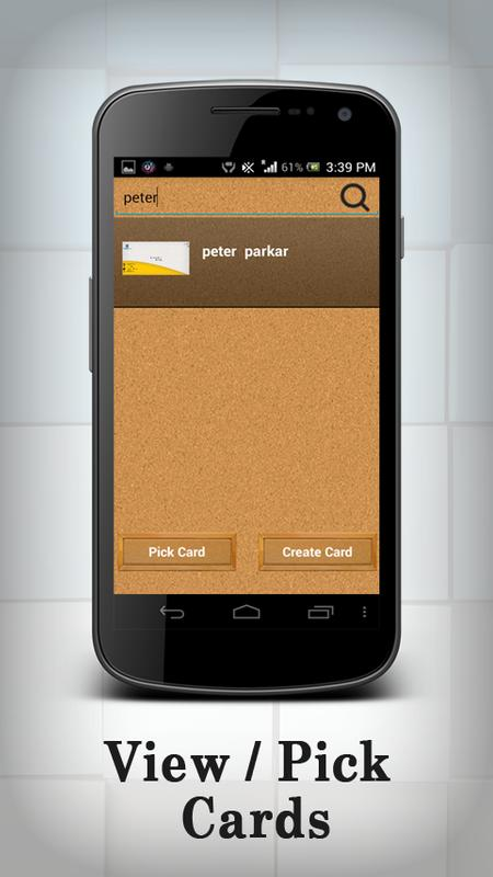 Business card organizer apk download free business app for android business card organizer apk screenshot reheart Images