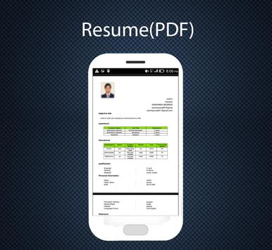 Professional Resume Maker APK Download - Free Education APP for ...