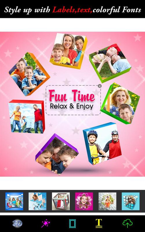 3d collage maker effects apk download free photography app for
