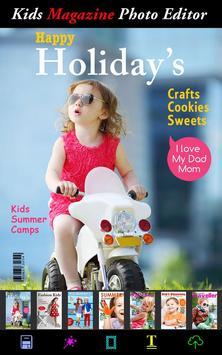 Kids Magazine Photo Effects poster