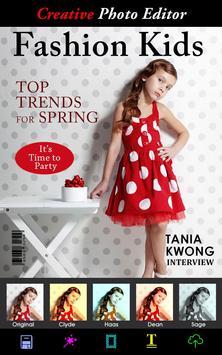Kids Magazine Photo Effects apk screenshot