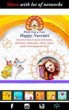 Navratri Photo Frame Wishes apk screenshot