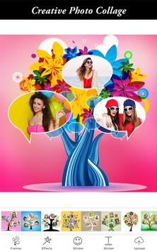 Tree Pic Collage Maker Grids - Tree Collage Photo apk screenshot