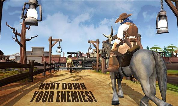 Western Cowboy Skeet Shooting poster