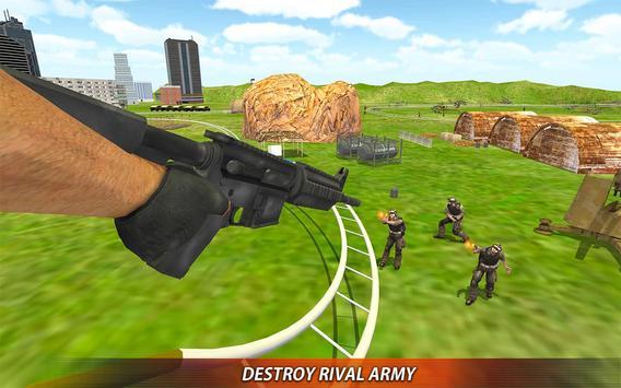 US Army Rollercoaster Shooting screenshot 11