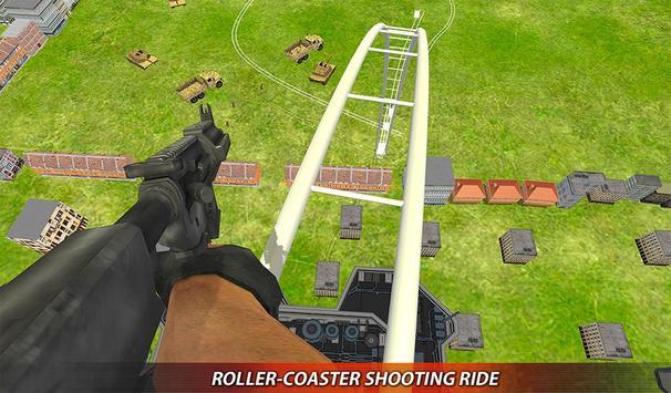 US Army Rollercoaster Shooting screenshot 12