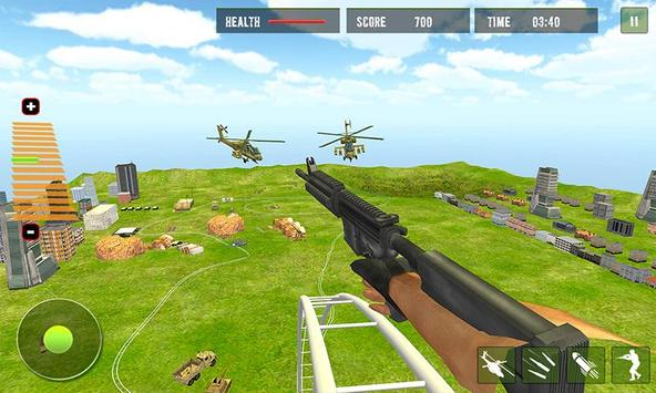 US Army Rollercoaster Shooting screenshot 2
