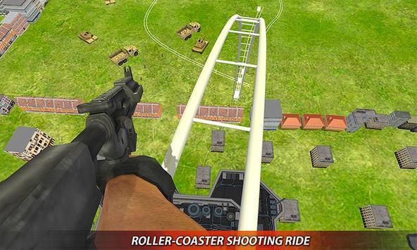 US Army Rollercoaster Shooting screenshot 3