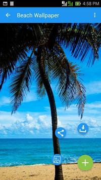 Beach wallpaper apk screenshot
