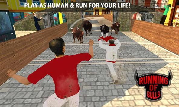 Angry Bull Escape Simulator 3D screenshot 1
