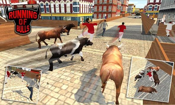 Angry Bull Escape Simulator 3D screenshot 2