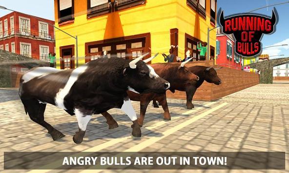 Angry Bull Escape Simulator 3D screenshot 3