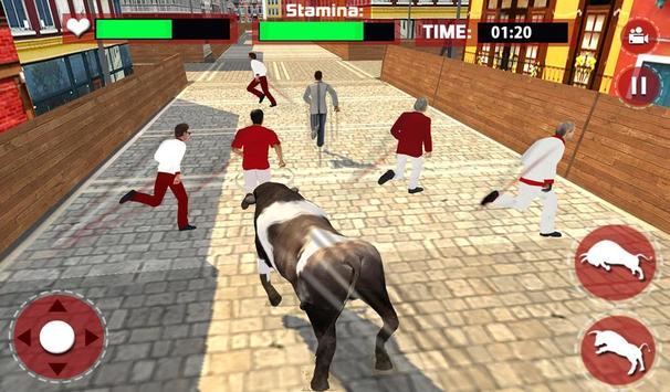 Angry Bull Escape Simulator 3D screenshot 8