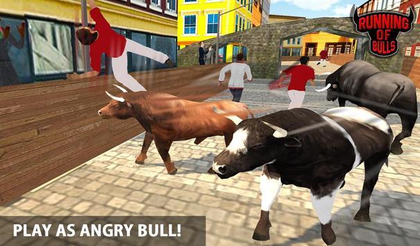 Angry Bull Escape Simulator 3D apk screenshot