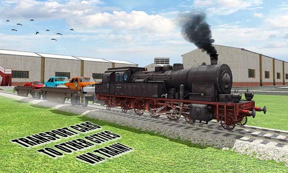 Car Transport Train Driver Sim poster
