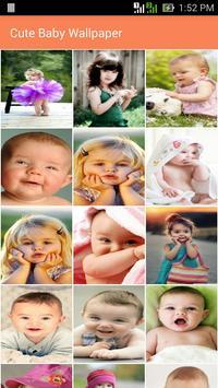 Cute Baby Wallpaper poster