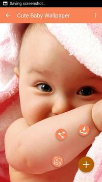 Cute Baby Wallpaper apk screenshot