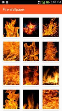 Fire Wallpaper poster