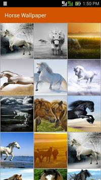 Horse Wallpaper poster
