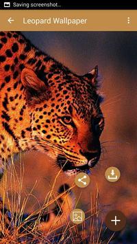 Leopard wallpaper apk screenshot