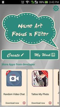 Name Art Focus N Filter screenshot 1