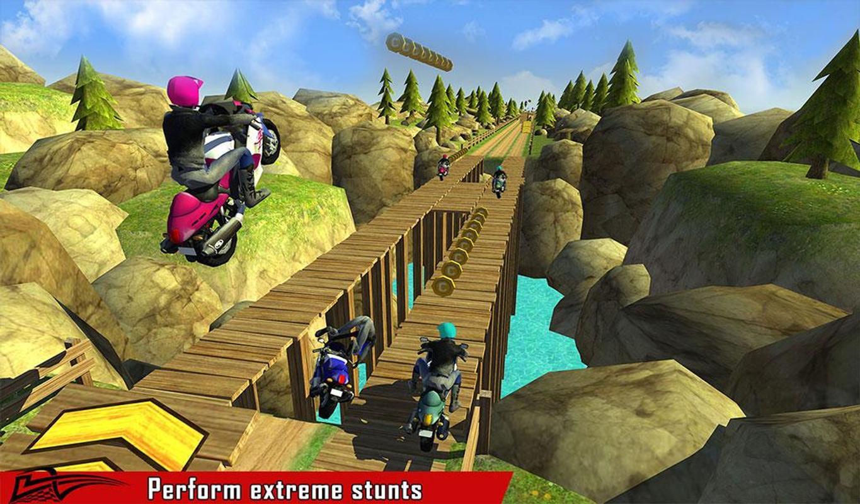 ... Sports Bike Stunt Racing Game screenshot 14 ...