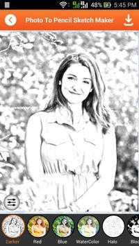 Photo To Pencil Sketch Maker screenshot 1