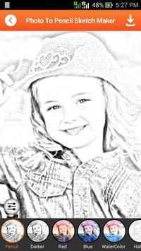 Photo To Pencil Sketch Maker screenshot 3