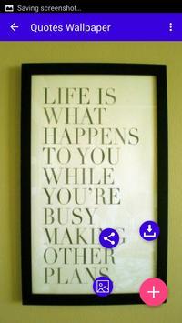 Quotes Wallpapers apk screenshot