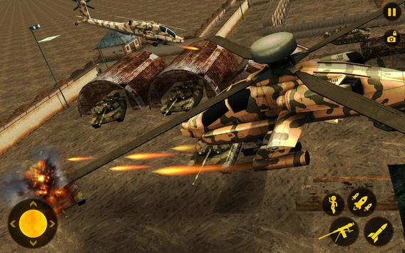 Futuristic Helicopter Real Robot Transformation 3D screenshot 9