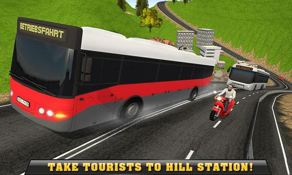 Offroad Bus Driver Hill Climb poster