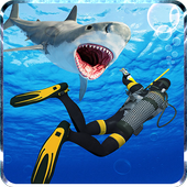 Spear Fishing Scuba Deep Dive icon