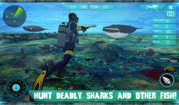 Spear Fishing Scuba Deep Dive poster
