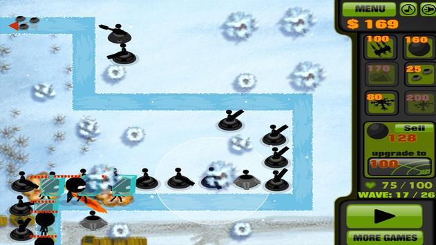 Stickman Tower Defense apk screenshot