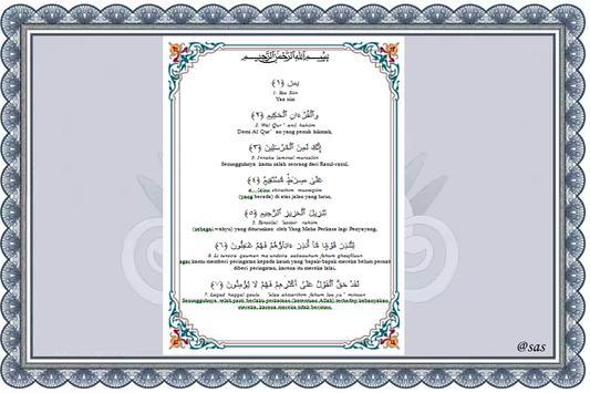 d SURAH YASIN apk screenshot