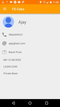 FS Cabs apk screenshot