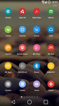 Etched Material Icons (Free) apk screenshot
