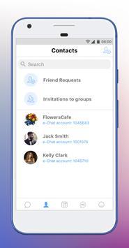 e-Chat screenshot 1