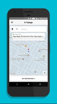 E-Taanga Cabs - E-Rickshaw, Auto screenshot 1